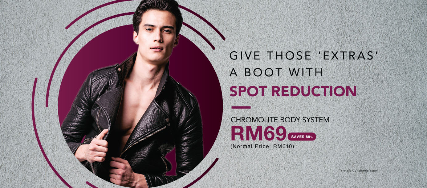 Get rid of spots at only RM69!