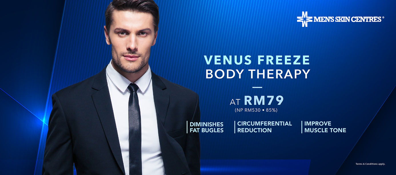 Venus Freeze Body Therapy at RM79