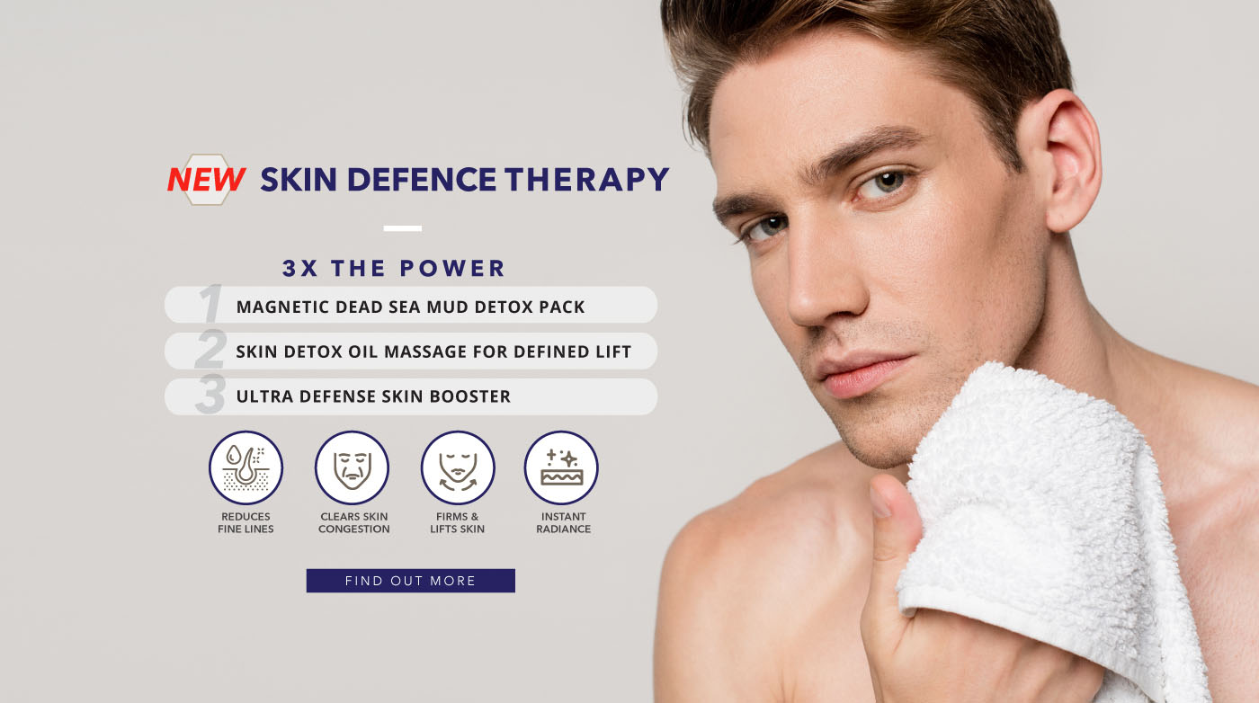New! Skin Defence Therapy with 3x the power!
